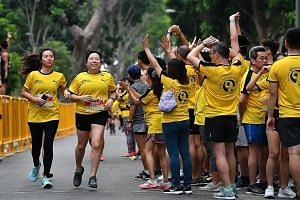 Organisers of yesterday's Yellow Ribbon Prison Run said they monitored both the PSI and PM2.5 readings before the event.