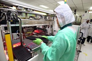 There are more than 60 semiconductor companies in Singapore, making up 11 per cent of global market share. The semiconductor industry forms about 7 per cent of the Republic's economy.