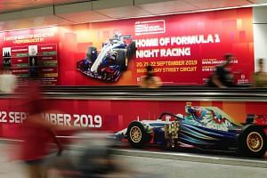 """A spokesman for race promoter Singapore GP said they will continue to """"work closely with all the relevant government authorities to receive the best possible forecasts when they are available""""."""