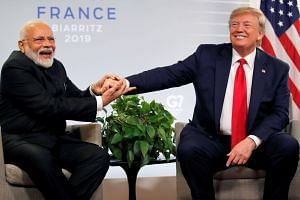 With US elections due in 14 months, US President Donald Trump's presence with India Prime Minister Narendra Modi may help soften his image in Houston.