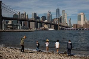 New York's mayor as proposed a $13.8 billion plan to extend the shoreline of Lower Manhattan to fight sea level rise. But other vulnerable New York communities say they are struggling for funding.