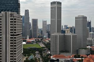 The softer business outlook for the fourth quarter of 2019 and first quarter next year comes as the Ministry of Trade and Industry revised Singapore's full-year growth forecast to between zero and 1 per cent.
