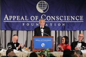 The spotlight was on Singapore's religious harmony as Prime Minister Lee Hsien Loong accepted the World Statesman Award from the Appeal of Conscience Foundation, a New York-based interfaith group promoting mutual acceptance and respect.