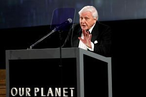 British naturalist David Attenborough said the Australian government's support for new coal mines showed the world it did not care about the environment.