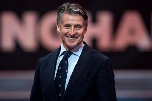 Sebastian Coe was re-elected as president of the International Association of Athletics Federations on Sept 25, 2019.