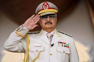 Libyan strongman Khalifa Haftar had repeatedly rejected UN calls for talks.