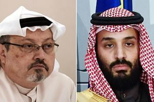 The murder of journalist Jamal Khashoggi (left) created a global fallout that tarnished Crown Prince Mohammed bin Salman's reforms and reputation.