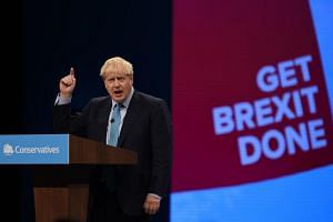 "British Prime Minister Boris Johnson said that he would take Britain out of the European Union on Oct 31 ""come what may""."