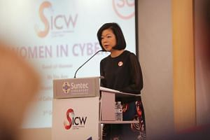Senior Minister of State for Communications and Information Sim Ann said more women can be encouraged to join the cyber-security industry and thrive in it.