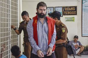 Felix Dorfin was handed a capital sentence after his arrest last year at the airport in Lombok, but his execution was commuted to 19 years in prison in August.