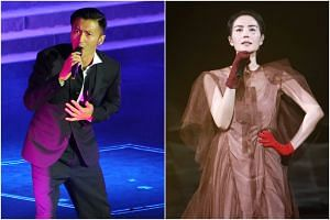 Nicholas Tse recently said on a talk show that he had nurtured a love for Chinese singer Faye Wong for 20 years.