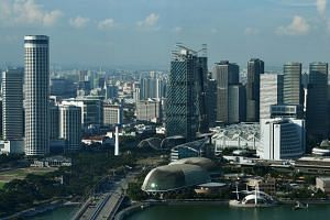 Singapore scored 84.8 out of a possible 100, beating the United States to the top spot in the rankings of 141 economies.