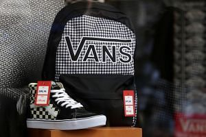 Vans reportedly removed a submission from its website that depicted both a flower symbol of Hong Kong and protesters wearing gas masks, goggles and hard hats.