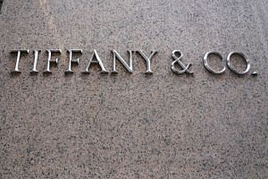 Tiffany's spokesman said the image was created in May - before the protests erupted - and