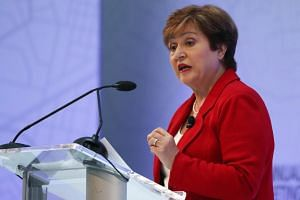 IMF managing director Ms Kristalina Georgieva said the global economy had shifted from a synchronised upswing two years ago to a synchronised slowdown.