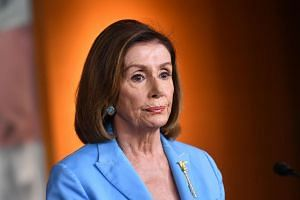 US House of Representatives Speaker Nancy Pelosi argues the impeachment inquiry she launched is constitutional and that no House vote is necessary at this juncture.