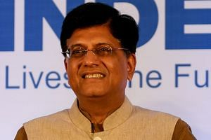 India's Trade Minister Piyush Goyal (above) will join delegates on the weekend for direct talks with his counterparts from China, Japan, Australia, New Zealand and Singapore.