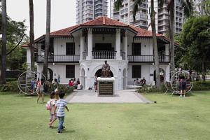 Sun Yat Sen Nanyang Memorial Hall. Breaking down the strong within-dialect identification, a legacy of colonial segregation policies, is also important in building Chinese identity in Singapore, say some experts.