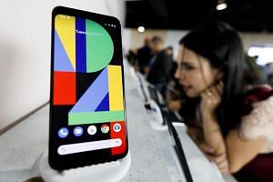 Available in black, white and orange colours, the Pixel 4 phones will be available in Singapore from Oct 24.