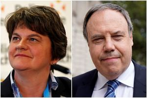 """As things stand, we could not support what is being suggested on customs and consent issues and there is a lack of clarity on VAT,"" DUP leader Arlene Foster and deputy leader Nigel Dodds said."