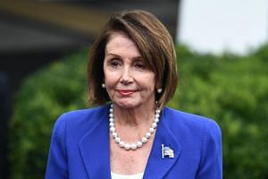 """What we witnessed on the part of the president was a meltdown. Sad to say,"" said US House Speaker Nancy Pelosi."