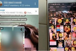 Reports earlier this month said the chat group was suspected of sharing obscene photos and videos of Singaporean girls.