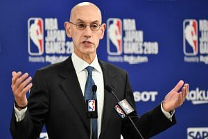 """""""I felt we had made enormous progress in terms of building cultural exchanges with the Chinese people. And, again, I have regret that much of that was lost,"""" said NBA Commissioner Adam Silver."""