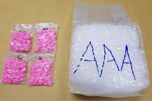 The drugs were seized in several cases on Oct 21 and Oct 22.