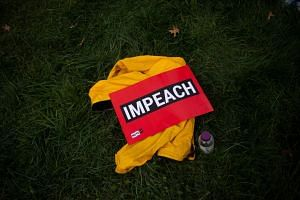 Overall, 46 per cent of Americans said they supported impeachment and 40 per cent said they opposed it.