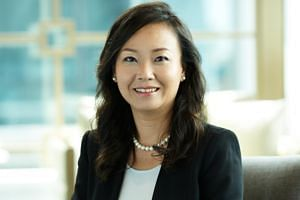 Hyflux's group EVP and group CFO Lim Suat Wah is taking