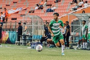 Geylang International winger Christopher van Huizen has clocked 17 Singapore Premier League starts in a 24-game season, as well as a league-high 10 assists this term.