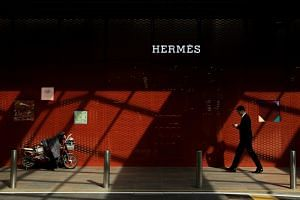Hermes said its stores in mainland China had outstanding results that helped fuel a 19 per cent sales gain in the wider region.