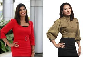 Manisha Tank (left) joined SPH Radio's Money FM 89.3, while Kiss92 recently welcomed Carrie Chong.