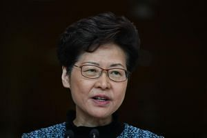 Hong Kong leader Carrie Lam called the FT report