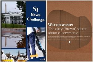 The Instagram: News Challenge bagged the Gold award for the Best in Social Media Engagement category, while War on waste: The dirty (brown) secret, an interactive project about the e-commerce industry, won a Silver in the Best in Lifestyle, Sports, E