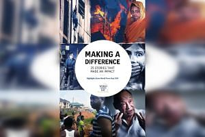 Published by Straits Times Press, the book, Making A Difference: 25 Stories That Made An Impact, was launched at the World Editors Forum's Asia chapter meeting in Hong Kong yesterday.