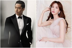 In June, Lin Chi-ling sprang a surprise when she announced her marriage to Japanese actor and singer Akira.
