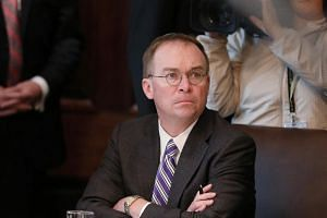 White House acting Chief of Staff Mick Mulvaney said he intended to