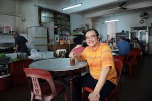 The Way Of Kueh by food writer Christopher Tan (above) aims to preserve the art of making kueh.