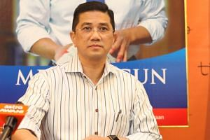 Malaysia's Economic Affairs Minister Azmin Ali reportedly met 22 Umno MPs at his official residence in Putrajaya.