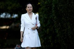 In this photo taken on Sept 30, 2019, Huawei CFO Meng Wanzhou leaves her home in Vancouver. She has said she is innocent and is fighting extradition.