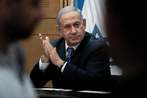 Netanyahu, 70, denies all wrongdoing but now finds himself stuck in political and legal limbo.