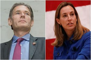 US congressman Tom Malinowski was greeted with loud applause from voters in New Jersey with each mention of impeachment while US Congresswoman Mikie Sherrill saw a slightly divided crowd in the neighbouring district.