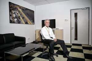 Mr Chase Carey at the Singapore F1 last year. He believes F1 must plug in digitally, by allowing stars and players to expand their reach, as this is good for connecting and engaging fans. American Chase Carey took on the driver's seat of Formula One