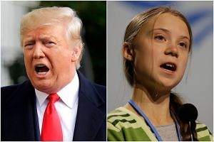 US President Donald Trump slammed Time magazine's naming of Greta Thunberg as 2019 Person of the Year on Dec 12, 2019.