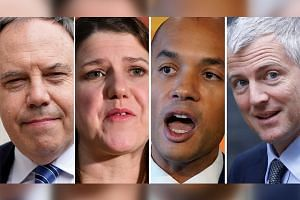 (From left) Northern Ireland's Democratic Unionist Party deputy leader Nigel Dodds, Liberal Democrats leader Jo Swinson, Liberal Democrats politican Chuka Umunna and the Conservative Party's Zac Goldsmith are among the high-profile politicians who lo