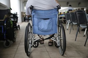 There are widespread concerns in Japan over the lack of infrastructure to cope with the needs of the disabled.