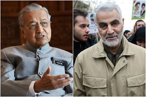 """Dr Mahathir warned of possible escalation of """"what is called terrorism"""" following the killing of Iranian General Qassem Soleimani."""
