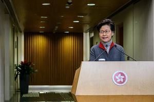 Chief Executive Carrie Lam added that once the findings are complete, the report will be handed to her directly and she will start work on it.