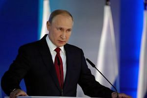 In his annual state-of-the-nation speech, Russian President Vladimir Putin said the changes he was proposing to Russia's political system were so serious that he wanted a nationwide referendum to be held to agree them.